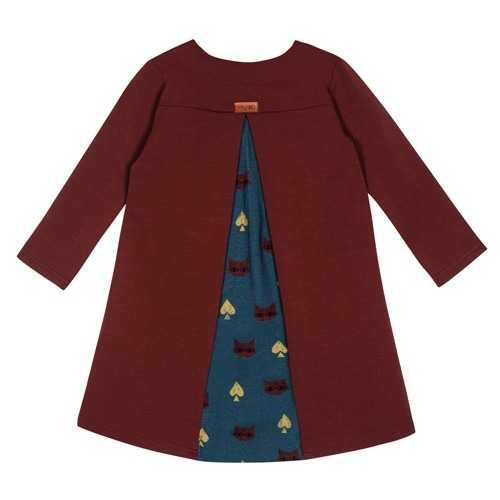 Sukienka Dodo maroon