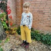 Sztruksowe Spodnie Culottes